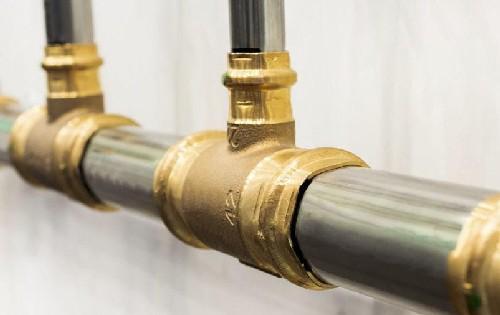 Aplicação de resina tubulação de gás