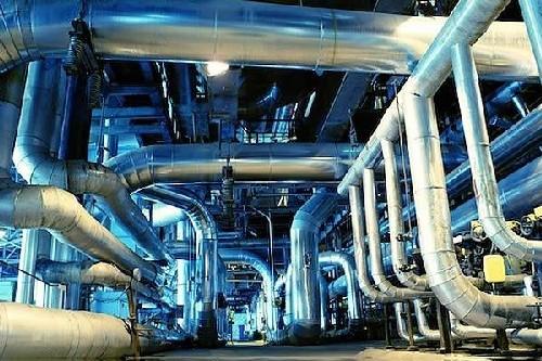 Manutenção em tubulações de vapor